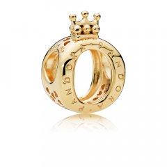 Charm Pandora 767401 mujer plata dorado