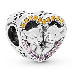 Charm Pandora 798044NPRMX Corazón Simba & Nala