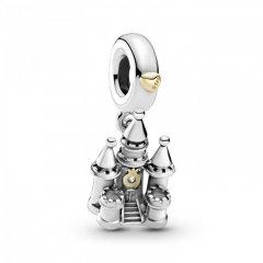 Charm Pandora 799337C00 castillo en dos tonos