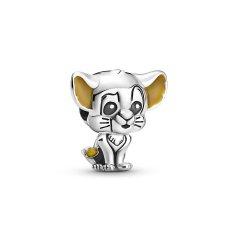 Charm Pandora 799398C01 simba de Disney plata