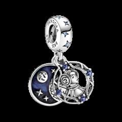 Charm Pandora colgante Princesa Leia de Star Wars 799251C01 unisex plata