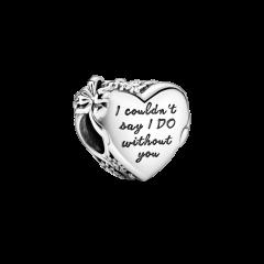Charm Pandora Corazón 799146C00 mujer plata