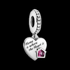 Charm Pandora hogar y corazón 799324C01 plata