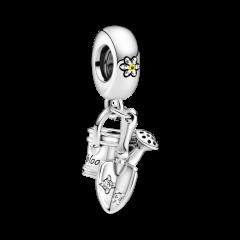 Charm regadera y llana Pandora 799359C01 plata