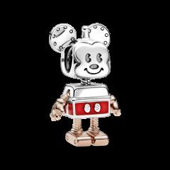 Charm Robot Mickey Mouse de Disney 789073C01 mujer plata