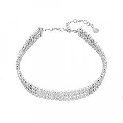 Choker Majorica 15801.01.0.000.010.1 mujer plata perlas