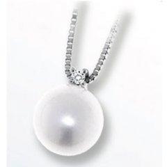 Collar Davite & Delucchi CLNP11250 mujer oro blanco diamantes Classic Line
