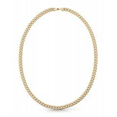 Collar Guess eslabones Curb UMN70033 acero dorado