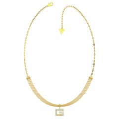Collar GUESS G MULTI CHAIN UBN79057 acero IP dorado