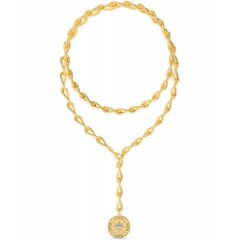 Collar GUESS UBN70008 mujer acero dorado