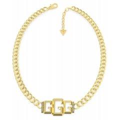 Collar GUESS UBN70010 mujer acero dorado