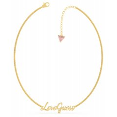 Collar GUESS UBN70049 mujer acero dorado