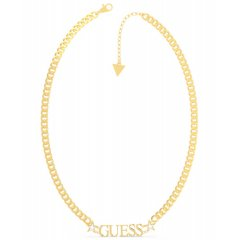 Collar GUESS UBN70064 mujer acero dorado