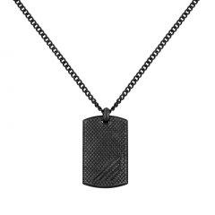 thumbnail Collar Police hombre PJ.26565PSE-01, acero, efecto oxidado