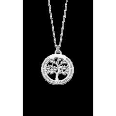 Collar LOTUS Silver FAMILY TREE LP1641-1/1 mujer plata
