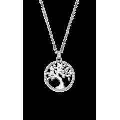 Collar LOTUS Silver FAMILY TREE LP1778-1/1 mujer plata