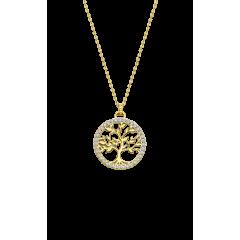 Collar LOTUS Silver TREE OF LIFE LP1746-1/2  mujer plata