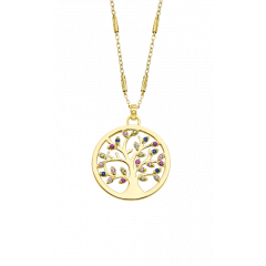 Collar LOTUS Silver TREE OF LIFE LP1890-1/2 mujer plata