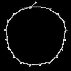 Collar P D PAOLA CO02-123-U mujer plata