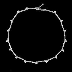Collar P D PAOLA CO02-124-U mujer plata circonitas