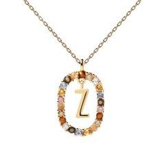 Collar P D Paola letra Z CO01-285-U mujer dorado