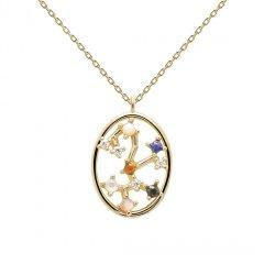 Collar PDPaola sagitario CO01-352-U mujer plata
