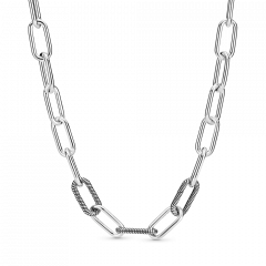 Collar Pandora Me 399001C00-45 Plata primera ley Mujer