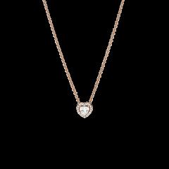 Collar Pandora Collier de Corazón Brillante 388425C01-45 Pandora Rose