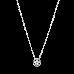 Collar Pandora Copo de nieve Collier brillante 399230C01-45 mujer