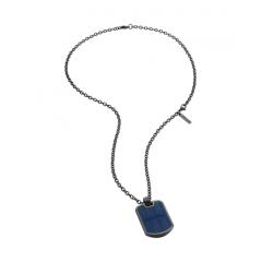 Collar Police hombre PJ.26572PSB/02, acero, negro