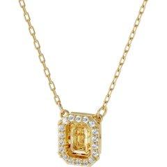Collar Swarovski Millenia 5598421 amarillo mujer