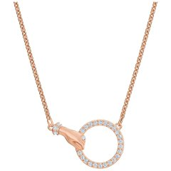 thumbnail Collar Ginger T Bar Swarovski 5567529 mujer tono oro rosa