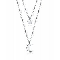 Collar Trend Viceroy 5064C000-08 mujer plata baño de rodio