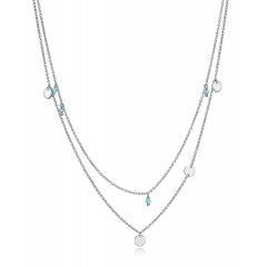 Collar Trend Viceroy 61016C000-98 mujer plata de ley piedra sintética