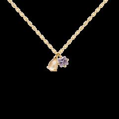 Collar VELOURS P D PAOLA CO01-182-U Mujer plata baño oro