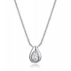 Collar Viceroy 71014C000-38 mujer plata Circonitas