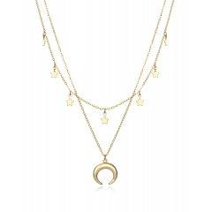 Collar Viceroy Trend 13008C100-06 plata baño oro