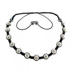 Cordón y colgante Tresor Paris 015388 Mujer Cristal Negro Orion