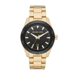 Reloj Michael Kors Mens men MK8816 black & gold
