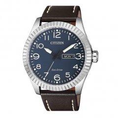 Reloj Citizen Caballero 3 agujas BM8530-11L piel