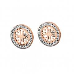 Pendientes Lotus Style LS1779-4/2 acero oro rosa
