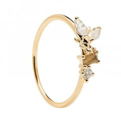 Anillo P D Paola Revery AN01-219-14 mujer plata