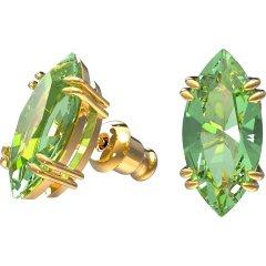 Pendientes Swarovski 5614453 gema stud verde