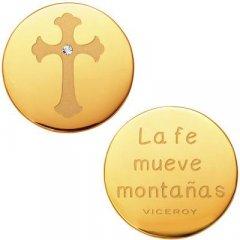 Medallón Plaisir Viceroy VMC0002-06 Mujer Acero Dorado Plaisir