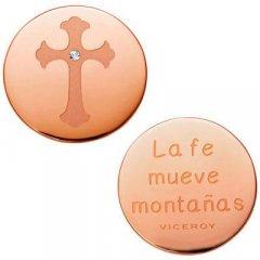 Medallón Plaisir Viceroy VMC0002-09 Mujer Acero Rosa Plaisir