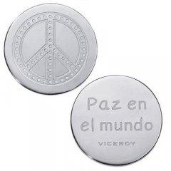 Medallón Plaisir Viceroy VMC0003-00 Mujer Acero Plateado Plaisir