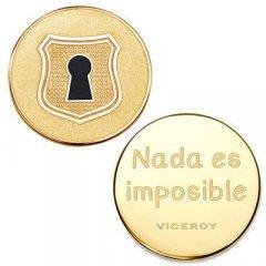 Medallón Plaisir Viceroy VMC0004-06 Mujer Acero Dorado Plaisir