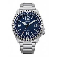Reloj Citizen Automático NJ2191-82L acero azul