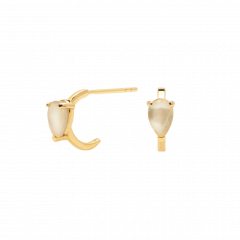 Pendientes AMBER ÉCLAIR P D PAOLA AR01-233-U Mujer plata Baño oro