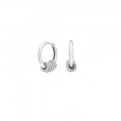 Pendientes aro ITEMPORALITY SEA-101-110-UU plata